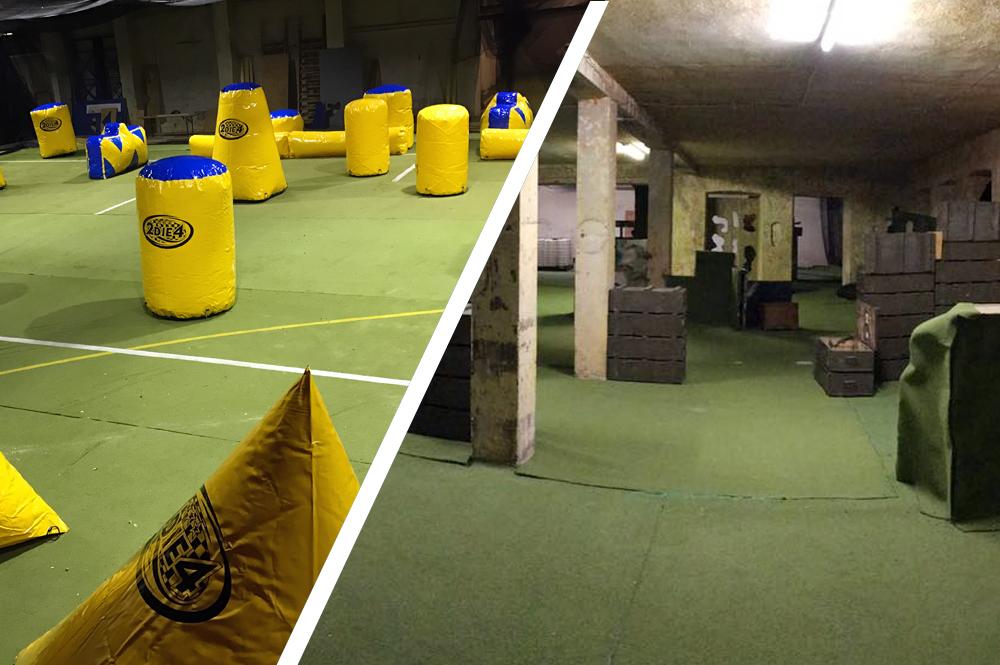 Paintballzone Frankfurt - Paintball Brachttal