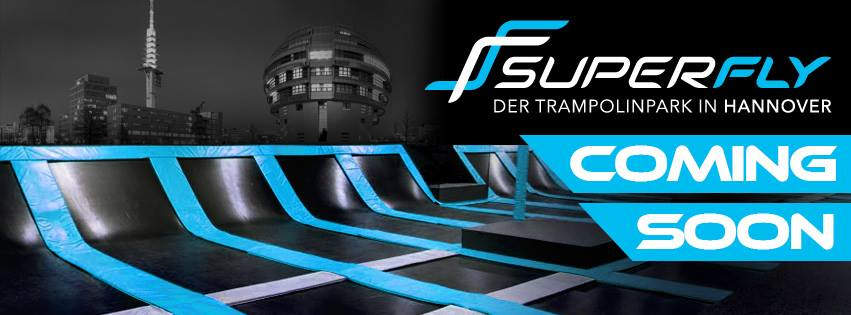 Trampolin Halle -Superfly Hannover