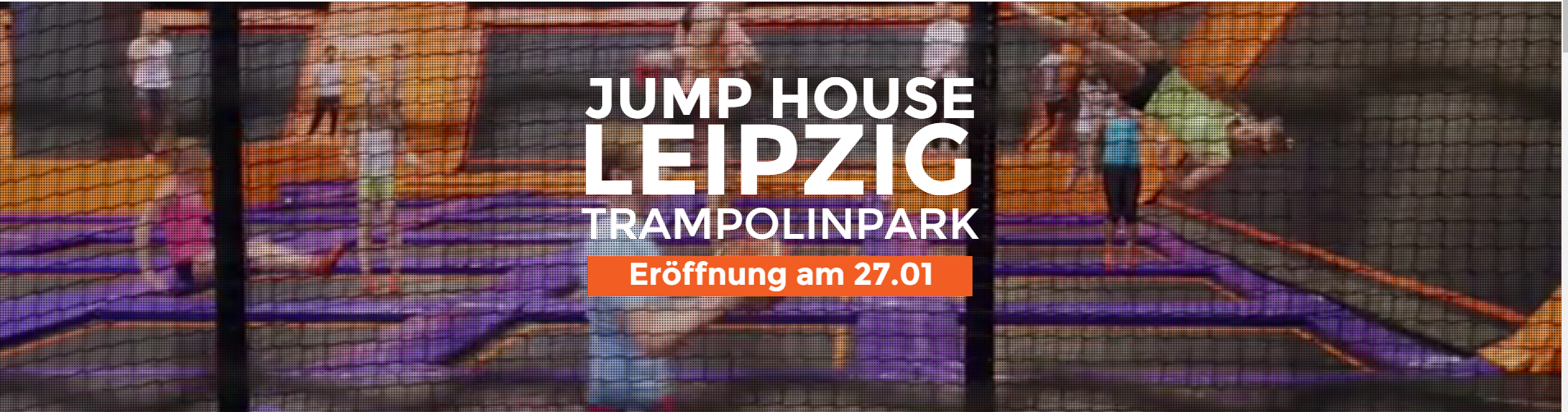Trampolinpark JUMP HOUSE LEIPZIG