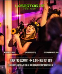 Lasertag – Hamburg St. Pauli Reeperbahn