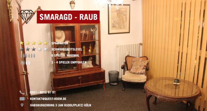 Smaragd Raub – Quest Room Köln