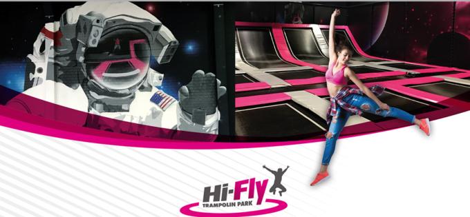 Trampolin Park – Hi-Fly Hilden