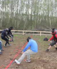 Arrowtag Erlebnisparcours am Störmthaler See