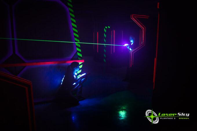 Lasertag LaserSky Bremen