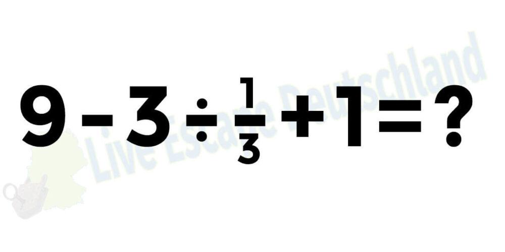 Kannst du es Lösen?
