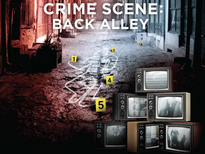 Crime Runners  – Crime Scene: Back alley